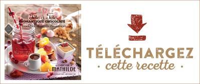 Les Cahiers de Mathilde : Tête à tête romantique chocolaté
