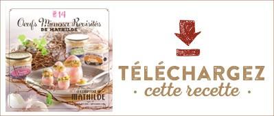 Les Cahiers de Mathilde : Oeufs Mimosas revisités de Mathilde